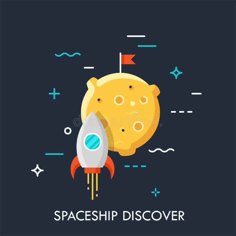 Startup business concept vector illustration