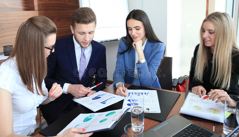 Startup business team stock photo
