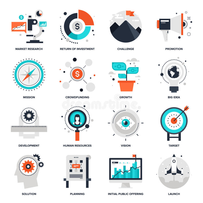Startup and New Business stock illustration