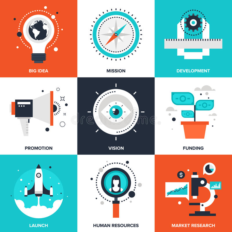 Startup and New Business vector illustration