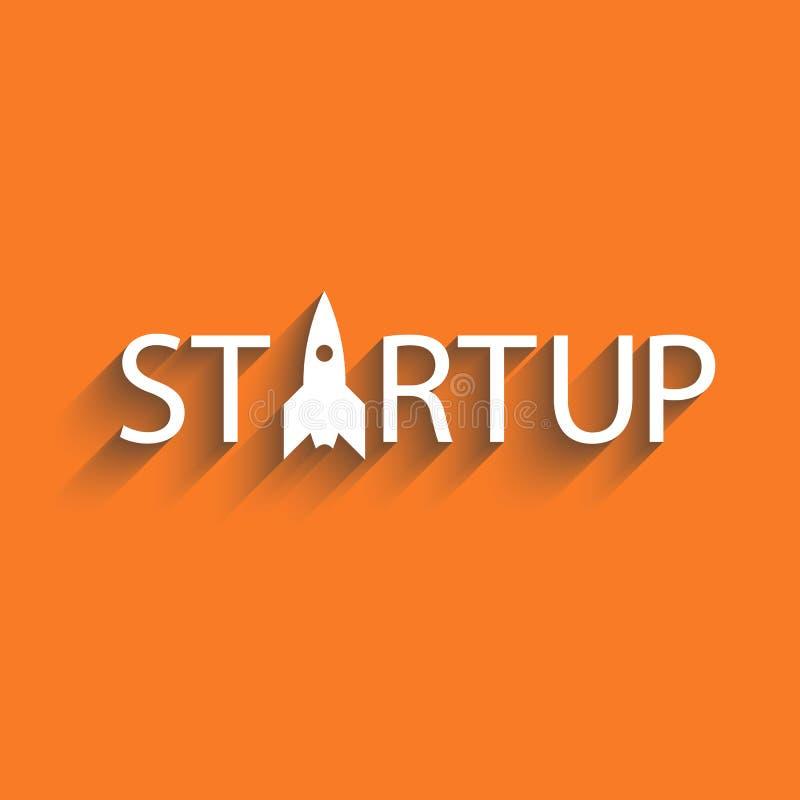 Startup ny affärsprojekt eller idé, presentationsbakgrund vektor illustrationer