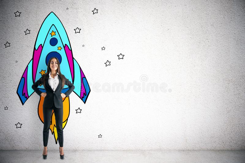 Startup and success concept royalty free stock image