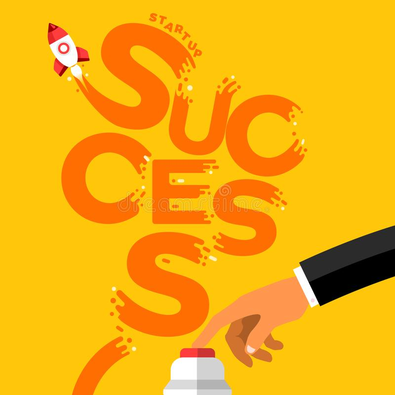 startup success royalty free illustration