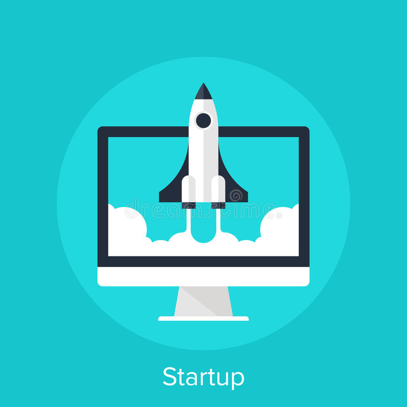Startup vector illustration