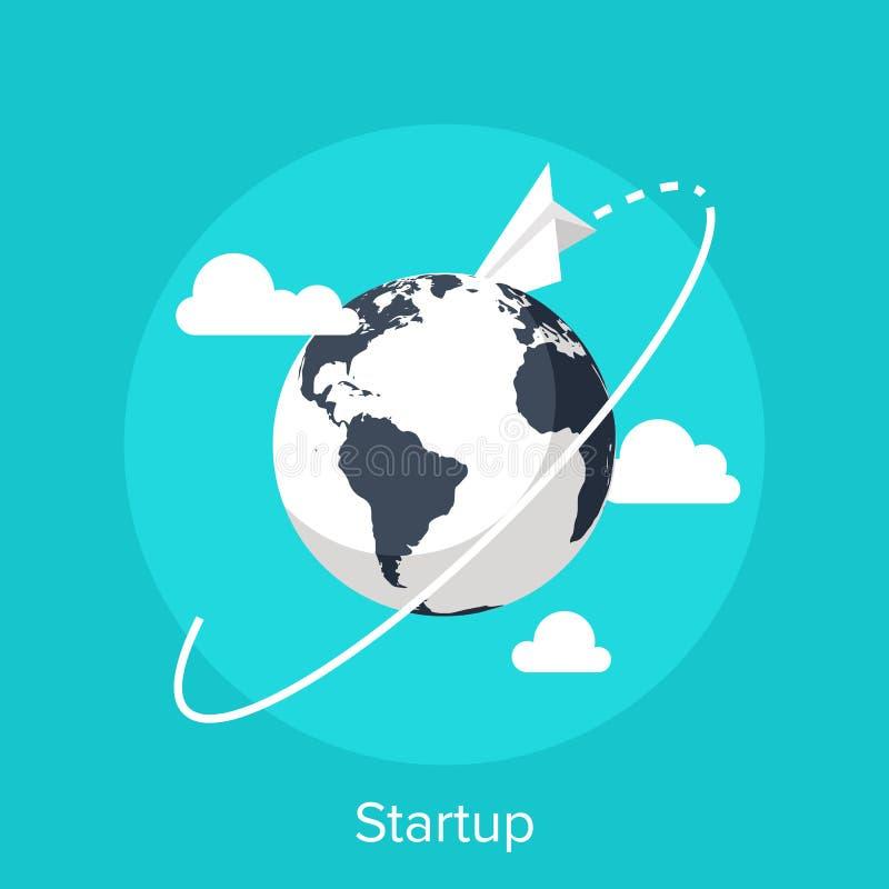 Startup royalty free illustration