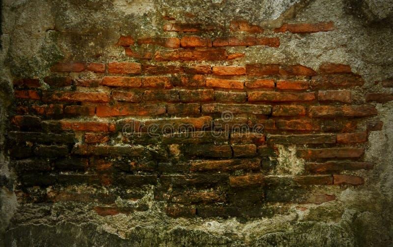 Stary ściana z cegieł zdjęcie royalty free