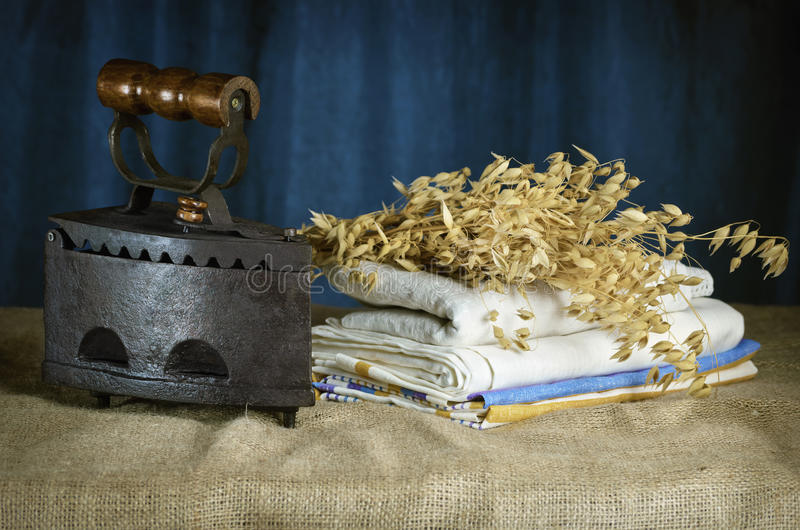 Stary żelazo fotografia royalty free