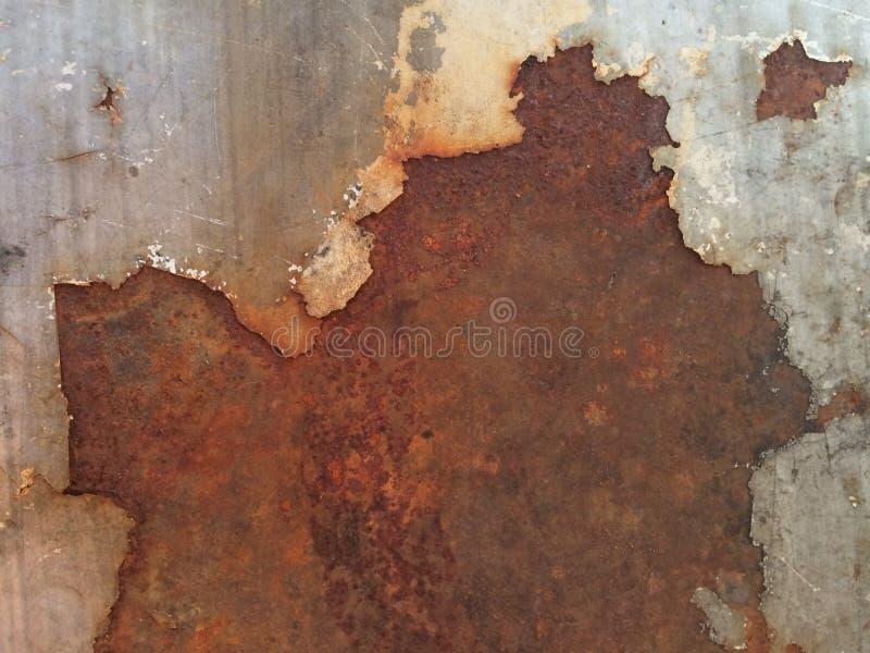 Stary żelazo z rdzą obraz royalty free