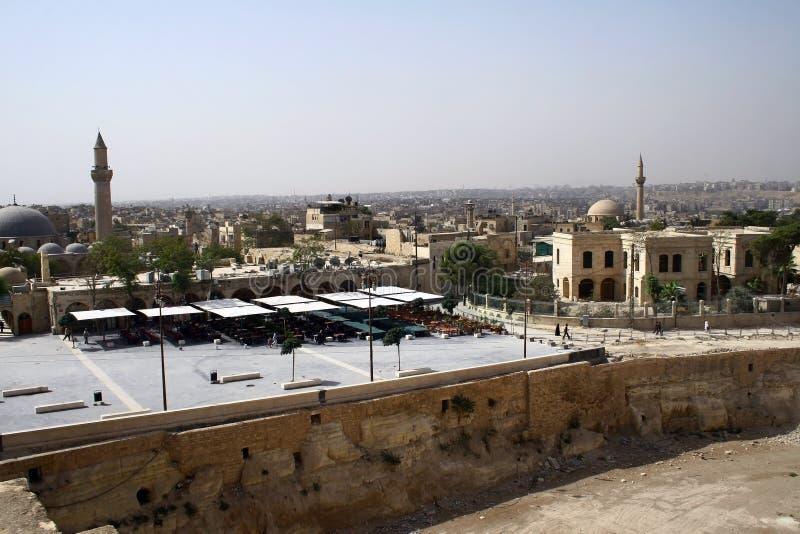 stary Aleppo miasto obrazy royalty free