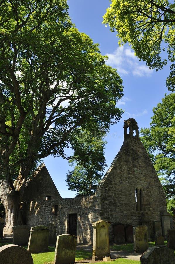 Stary Alloway kościół obraz stock