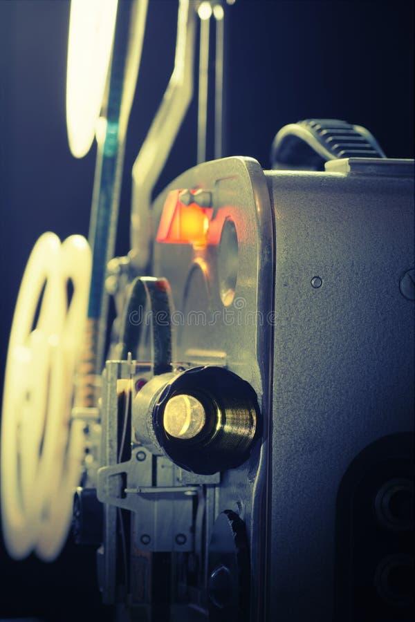 Stary ekranowy projektor obraz stock
