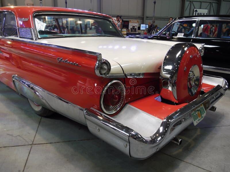 Stary Ameryki samochodów Luksusowy przedstawienie obraz royalty free