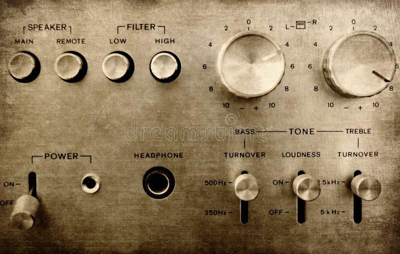 Stary amp zdjęcie stock