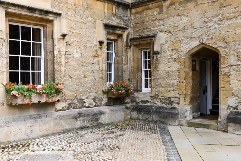 Stary Angielski budynek obrazy stock