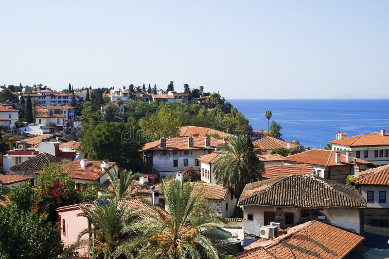 stary Antalya miasto obrazy stock
