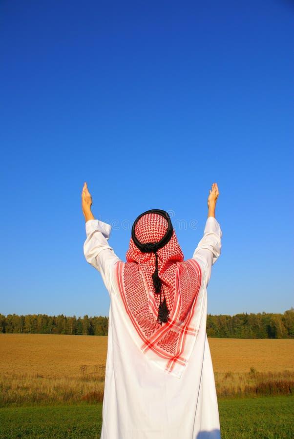 stary arabskiego zdjęcia royalty free
