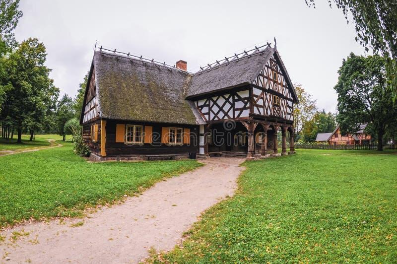 Stary arkadowy dom obrazy royalty free