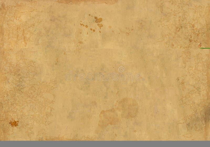 stary arkusza papieru tła soil zdjęcie royalty free