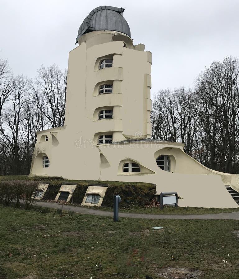 Stary astrofizyki obserwatorium w Niemcy zdjęcia royalty free