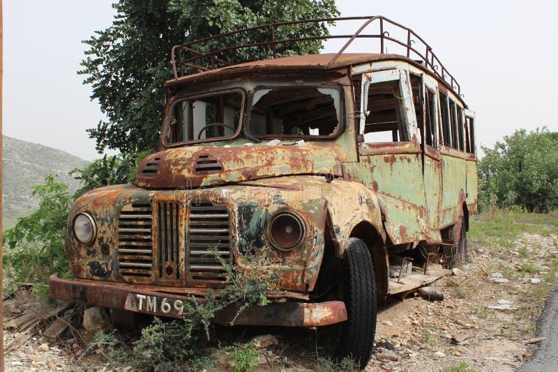 stary autobus zdjęcie royalty free