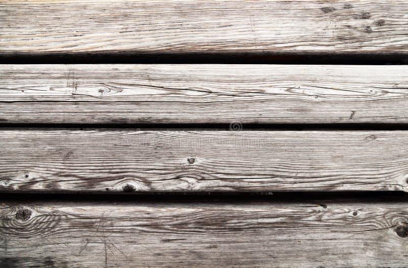 Stary będący ubranym drewna deska textured tło Szarość wietrzejący drewniany stół zdjęcia royalty free