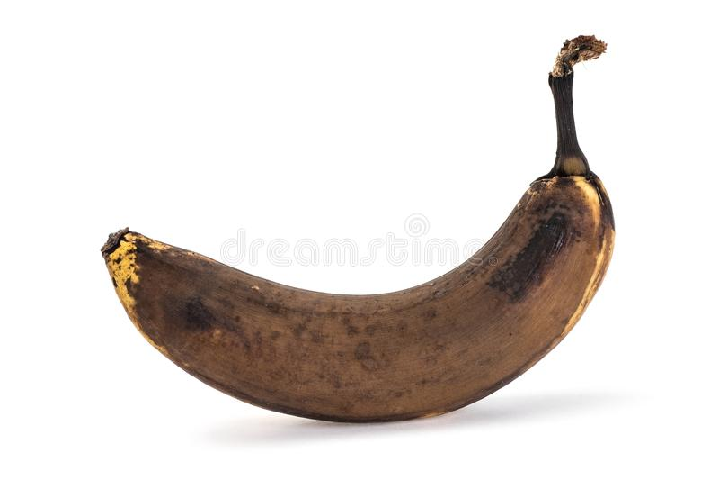 Stary banan obraz stock