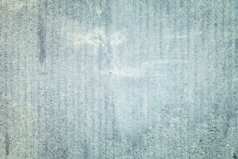 Stary beton Gładki Siwieje Ściennego tekstury tło obraz royalty free