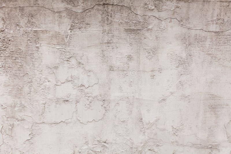 Stary betonowej ściany tło, cementowa tekstura, kopii przestrzeń dla teksta fotografia stock