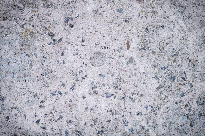Stary betonowy tło Antyka betonu popielaty tło obrazy royalty free