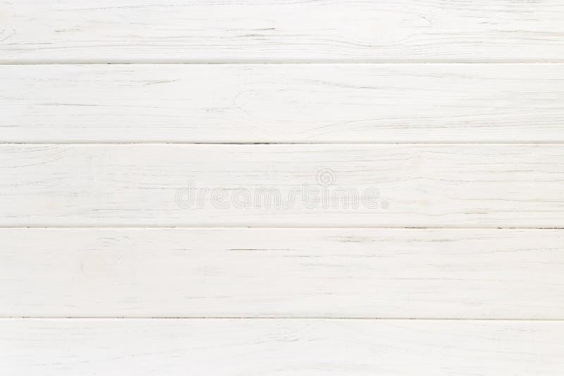 Stary biały drewniany tło zdjęcie stock