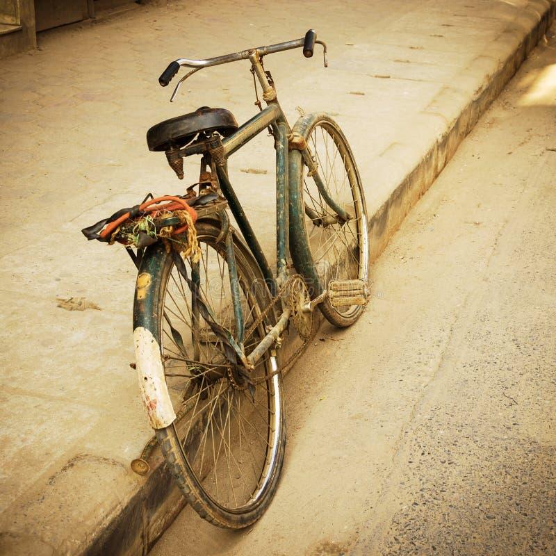 Stary bicykl fotografia royalty free