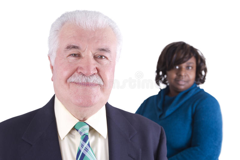 stary biznesowy mężczyzna zdjęcie royalty free