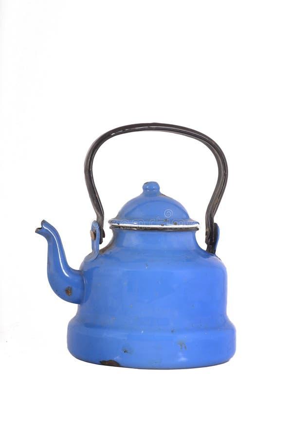 Stary blaszany teapot zdjęcia royalty free
