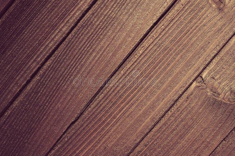 Stary bogaty drewniany tekstury tło z kępkami obrazy stock
