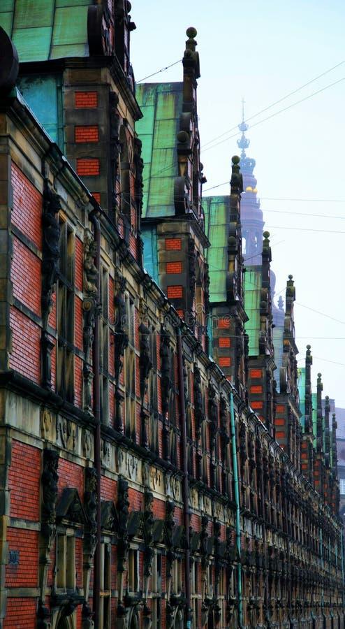 Download Stary Borse w Kopenhaga obraz stock. Obraz złożonej z centrum - 57658831