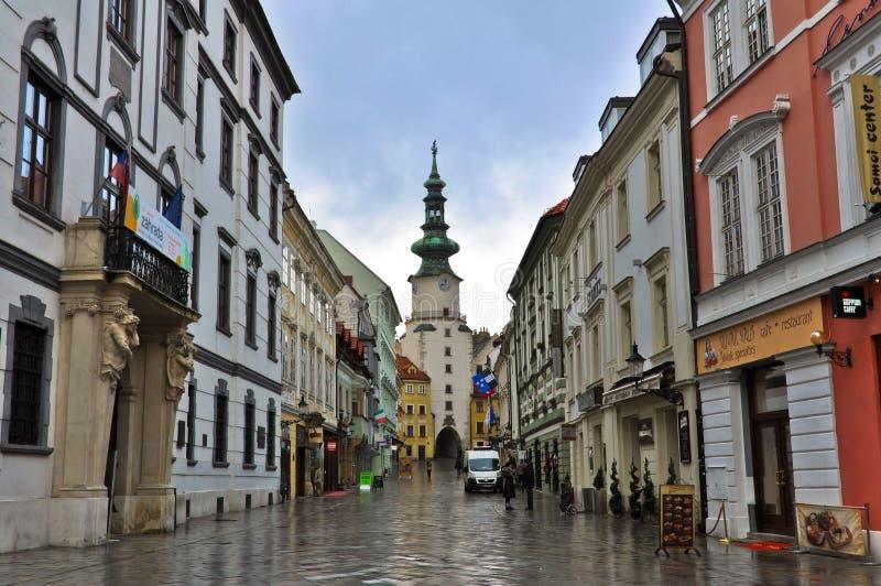 stary Bratislava miasteczko obrazy stock