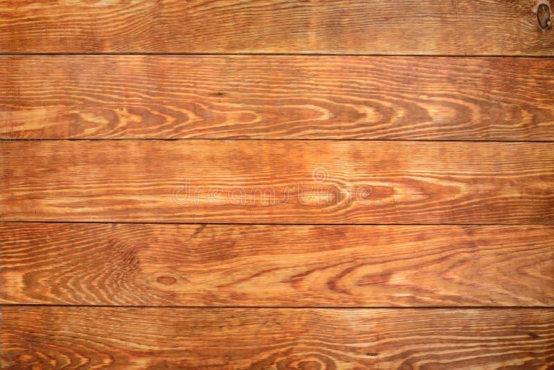 Stary brown drewniany tło, nieociosana drewniana powierzchnia z kopii przestrzenią zdjęcie stock