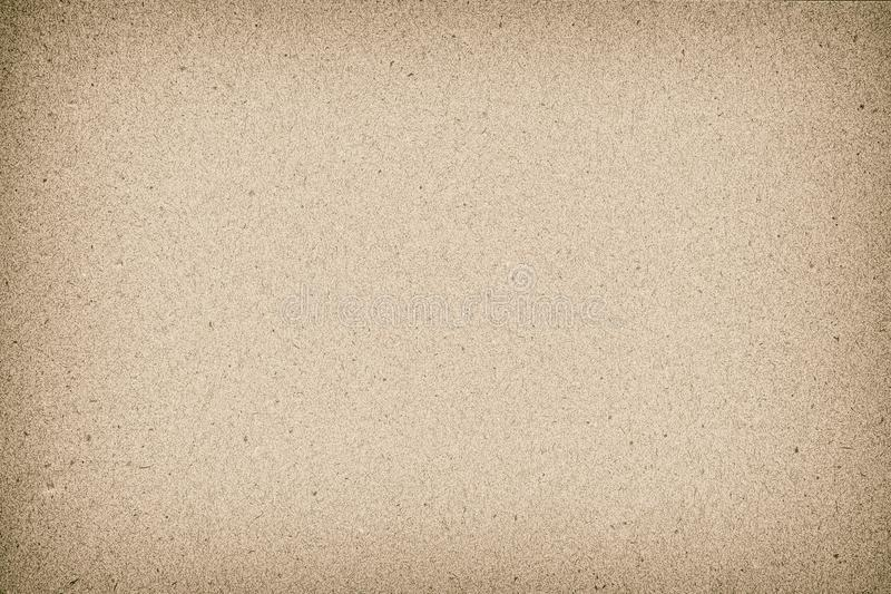 Stary Brown papieru tekstury tło używa my Kraft koperty lub materiały tła projekt fotografia stock