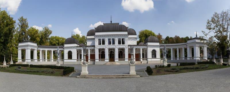 Stary budynek poprzedni kasyno cluj, Transylvania, Rumunia Teraz słuzyć jako miastowy sztuki centrum obraz royalty free