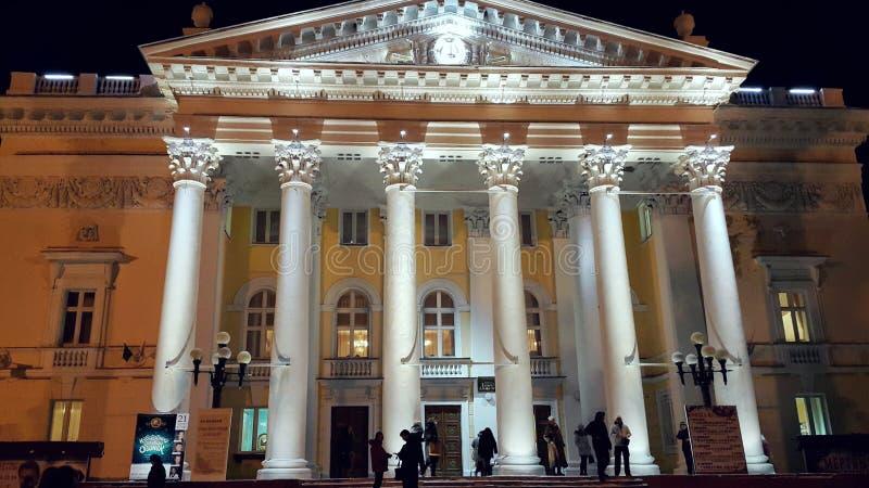 Stary budynek teatr obrazy royalty free