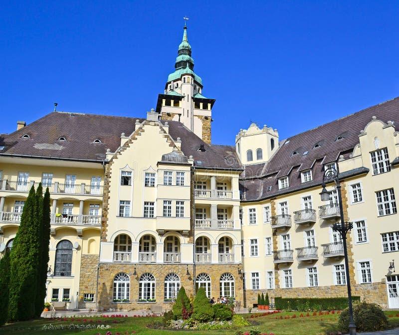 Stary budynek w Lillafured, Węgry zdjęcia stock