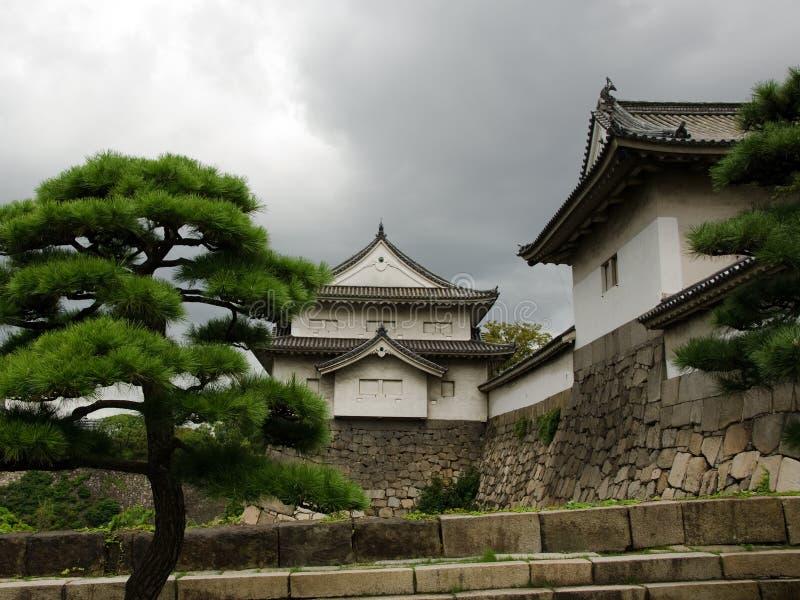 stary budynku japończyk obraz stock