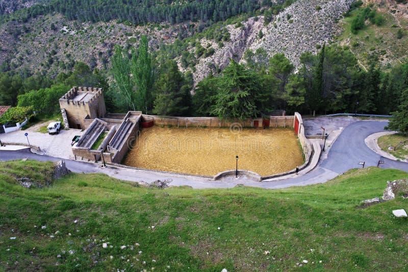 Stary bullring Andalusia Hiszpania fotografia stock