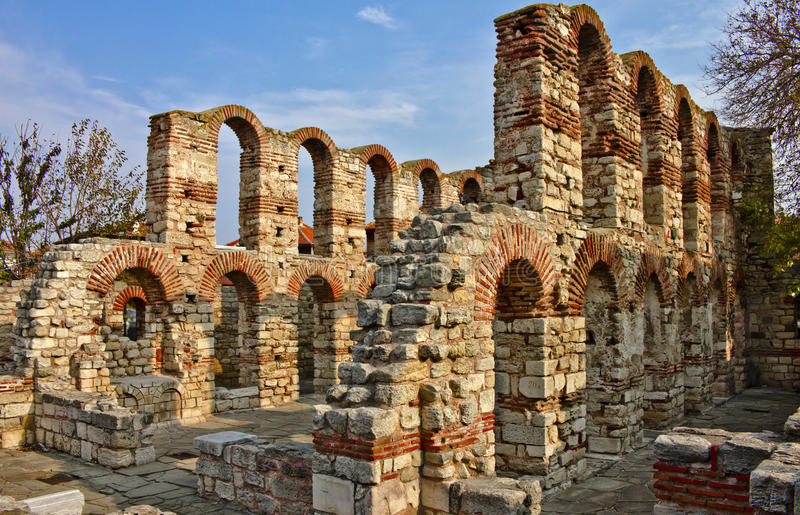 stary byzantine kościół obrazy royalty free