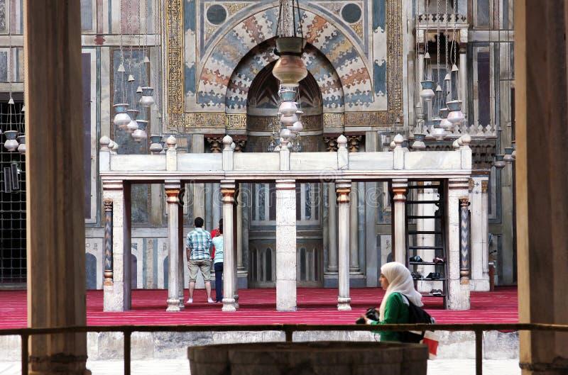 stary Cairo meczet obraz stock