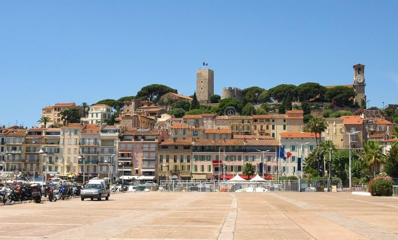 stary Cannes miasteczko obrazy stock