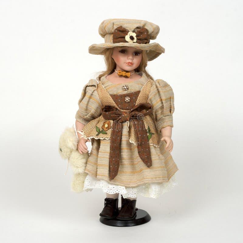 stary ceramiczny dolly obraz royalty free