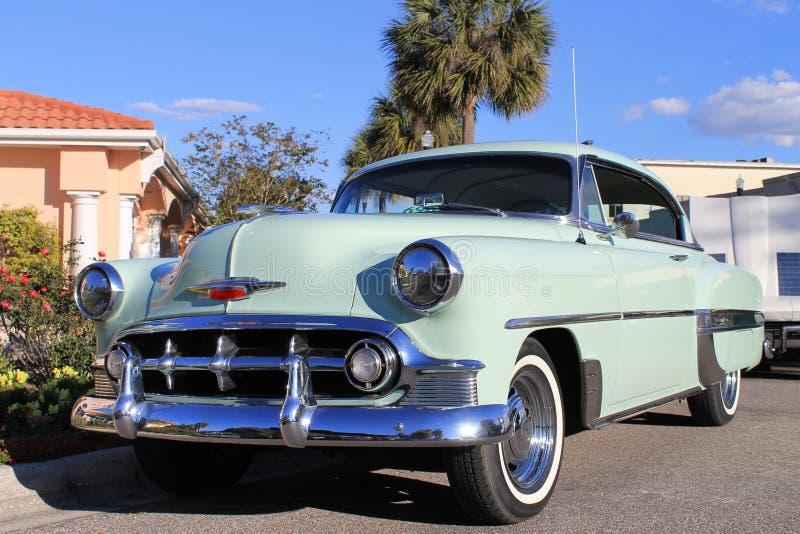Stary Chevy samochód obrazy royalty free