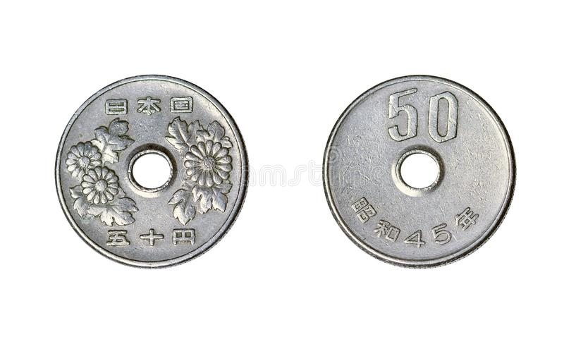 stary chiński monet fotografia stock