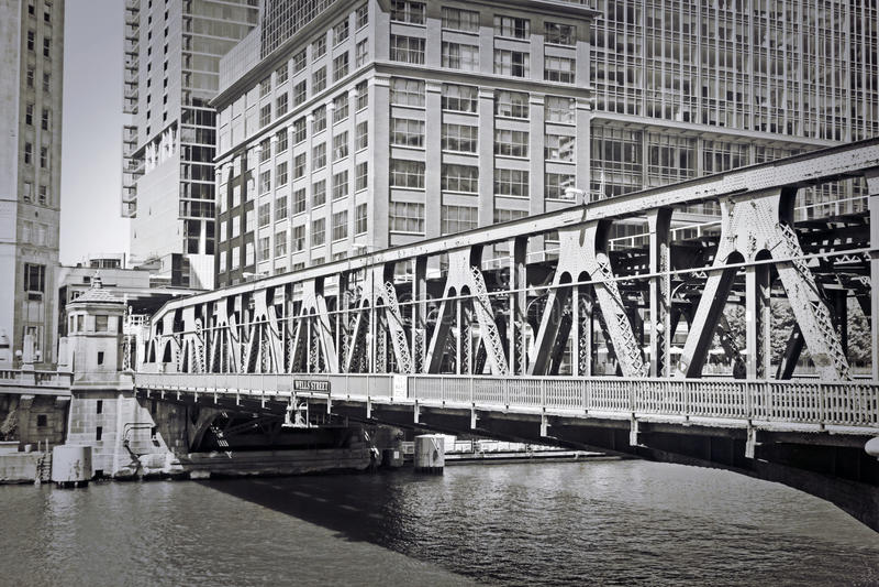 stary Chicago projekt fotografia royalty free